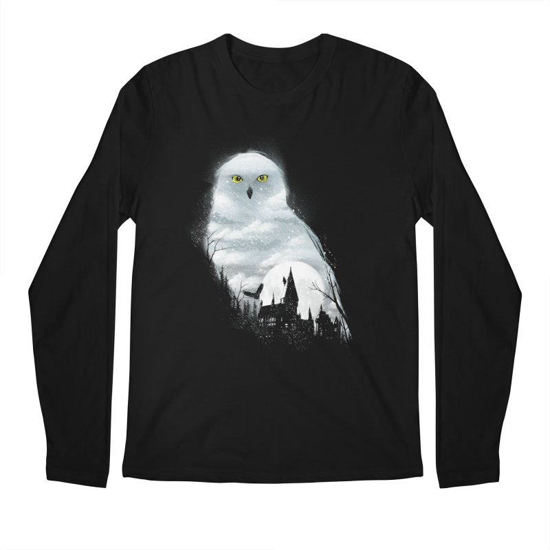 Magical Winter Men's Longsleeve T-Shirt by dandingeroz's Artist Shop