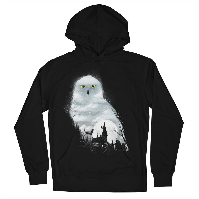 Magical Winter Women's French Terry Pullover Hoody by dandingeroz's Artist Shop