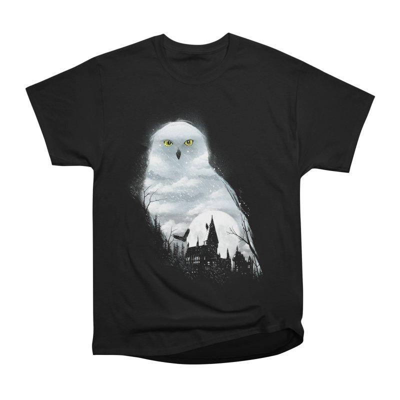 Magical Winter Men's Heavyweight T-Shirt by dandingeroz's Artist Shop