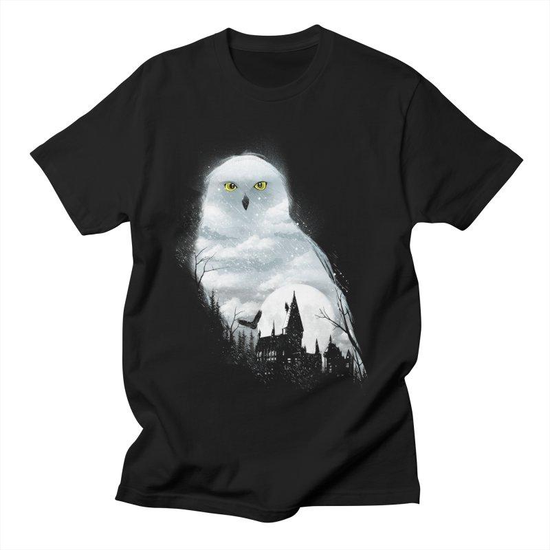 Magical Winter Women's Regular Unisex T-Shirt by dandingeroz's Artist Shop