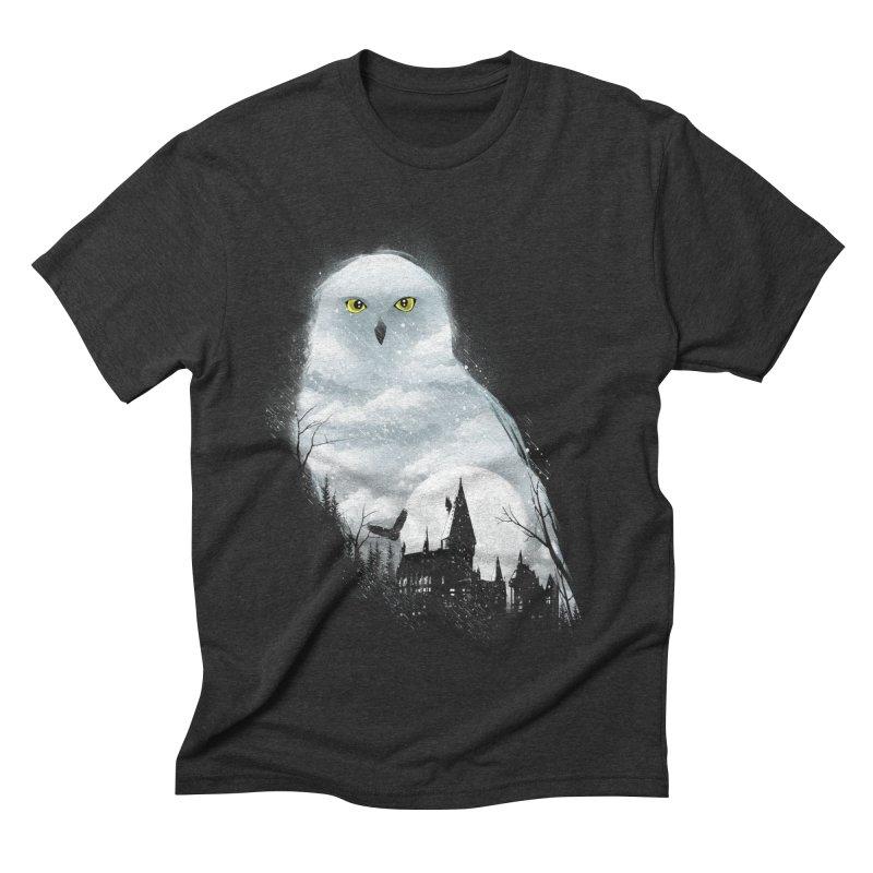 Magical Winter Men's Triblend T-Shirt by dandingeroz's Artist Shop