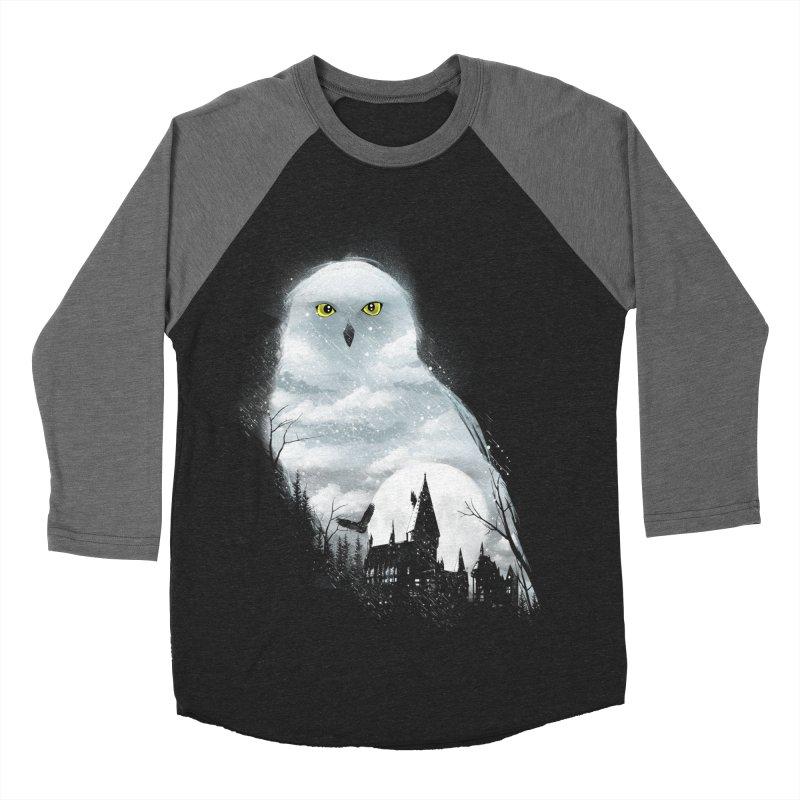 Magical Winter Men's Baseball Triblend Longsleeve T-Shirt by dandingeroz's Artist Shop