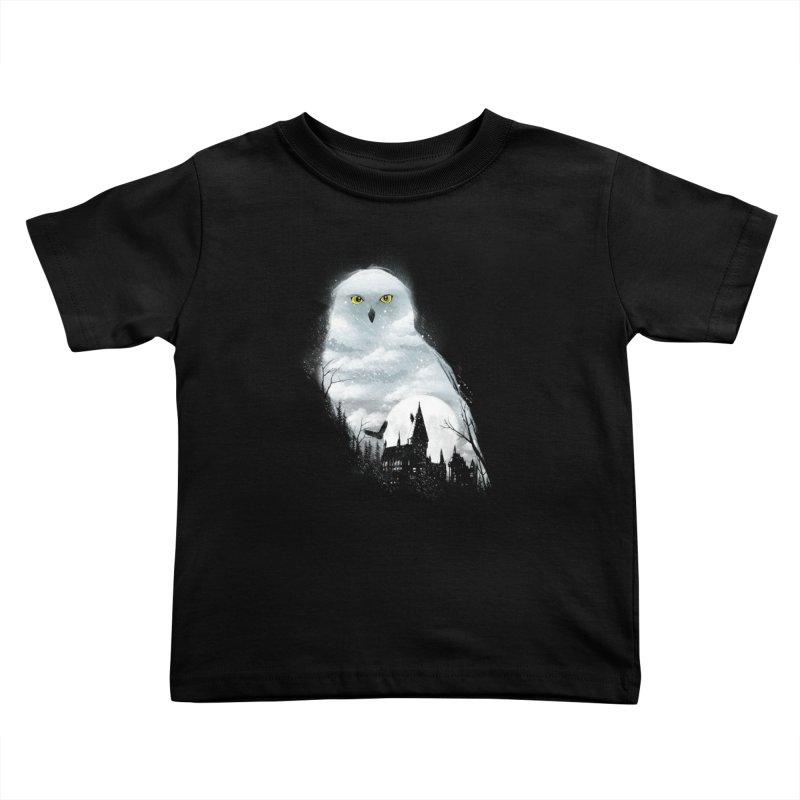 Magical Winter Kids Toddler T-Shirt by dandingeroz's Artist Shop
