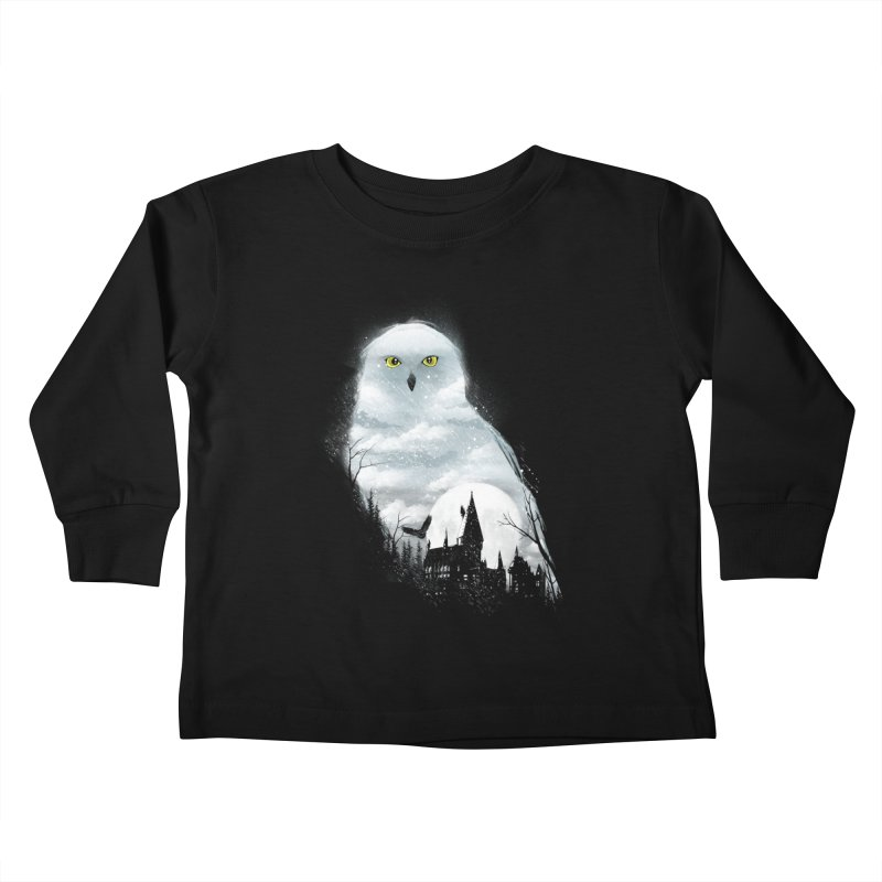 Magical Winter Kids Toddler Longsleeve T-Shirt by dandingeroz's Artist Shop