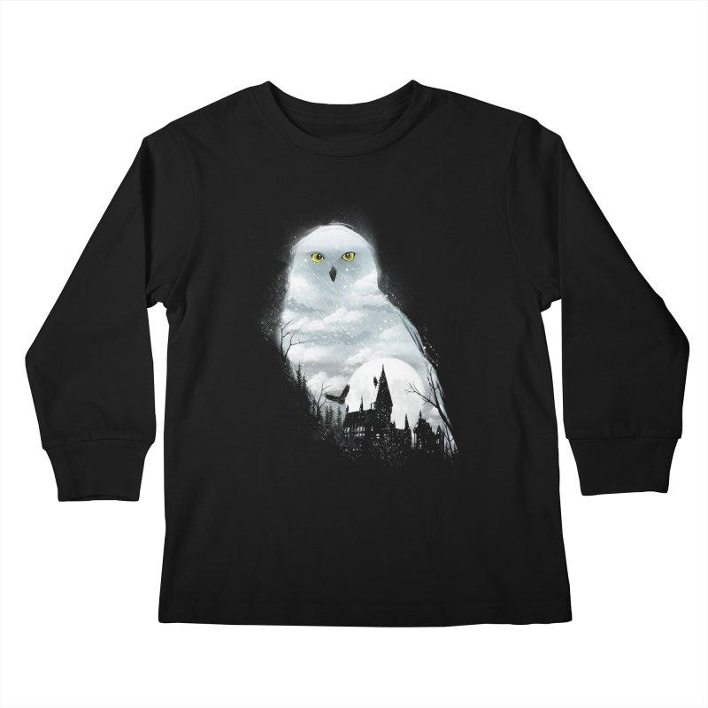 Magical Winter Kids Longsleeve T-Shirt by dandingeroz's Artist Shop