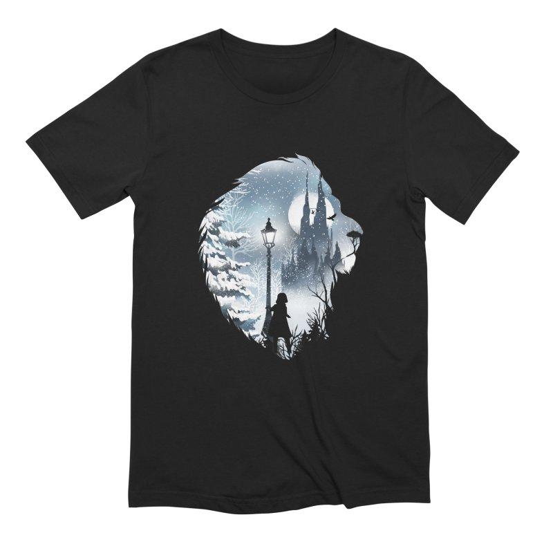 Mystical Winter Men's T-Shirt by dandingeroz's Artist Shop