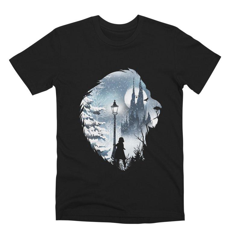 Mystical Winter Men's Premium T-Shirt by dandingeroz's Artist Shop