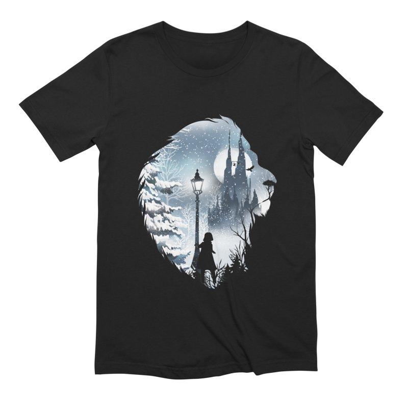 Mystical Winter Men's Extra Soft T-Shirt by dandingeroz's Artist Shop