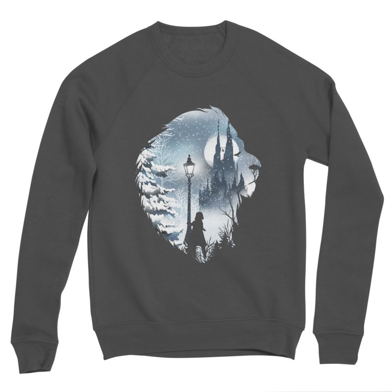 Mystical Winter Women's Sponge Fleece Sweatshirt by dandingeroz's Artist Shop