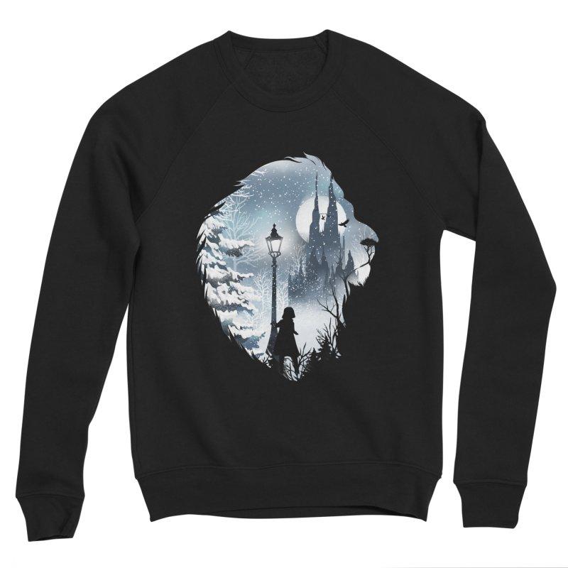 Mystical Winter Men's Sponge Fleece Sweatshirt by dandingeroz's Artist Shop