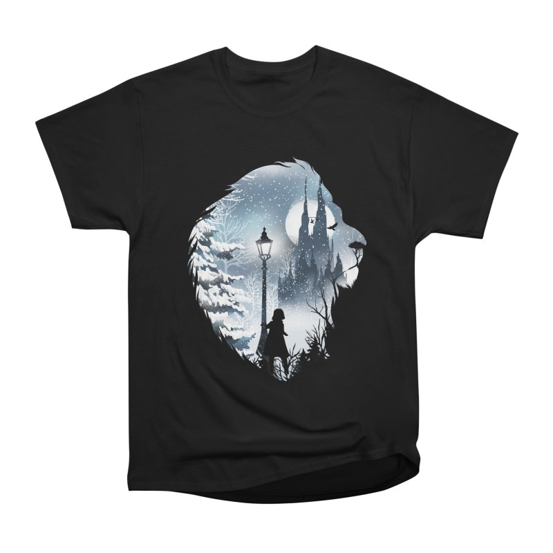 Mystical Winter Men's Heavyweight T-Shirt by dandingeroz's Artist Shop