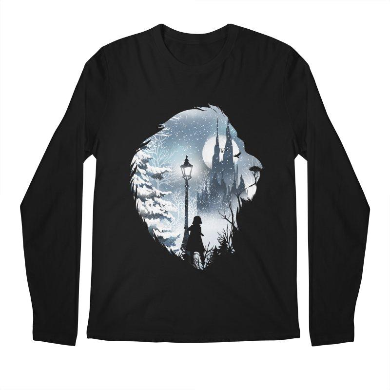 Mystical Winter Men's Regular Longsleeve T-Shirt by dandingeroz's Artist Shop