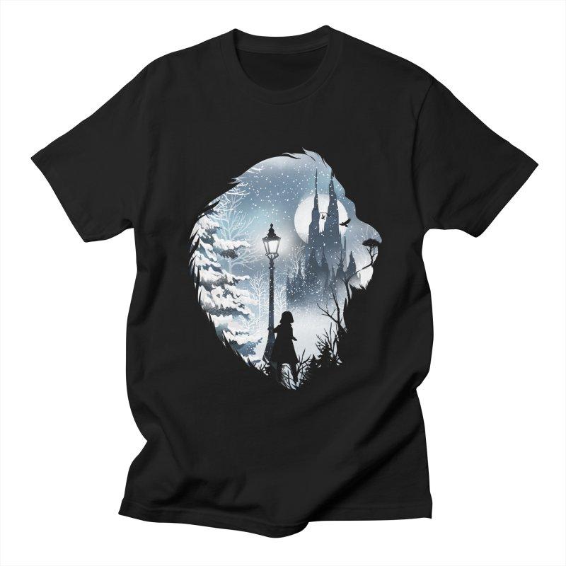 Mystical Winter Women's Regular Unisex T-Shirt by dandingeroz's Artist Shop