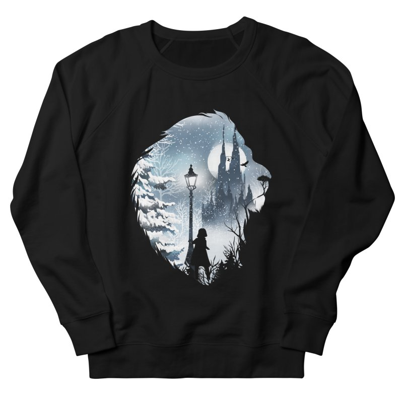 Mystical Winter Men's French Terry Sweatshirt by dandingeroz's Artist Shop