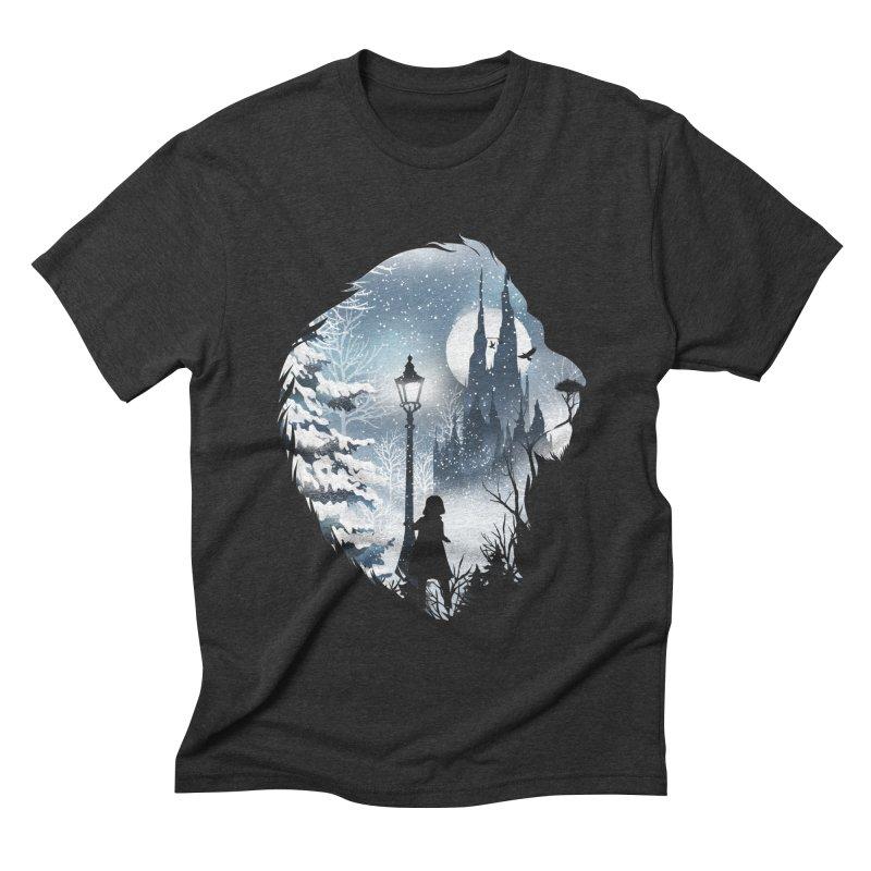 Mystical Winter Men's Triblend T-Shirt by dandingeroz's Artist Shop