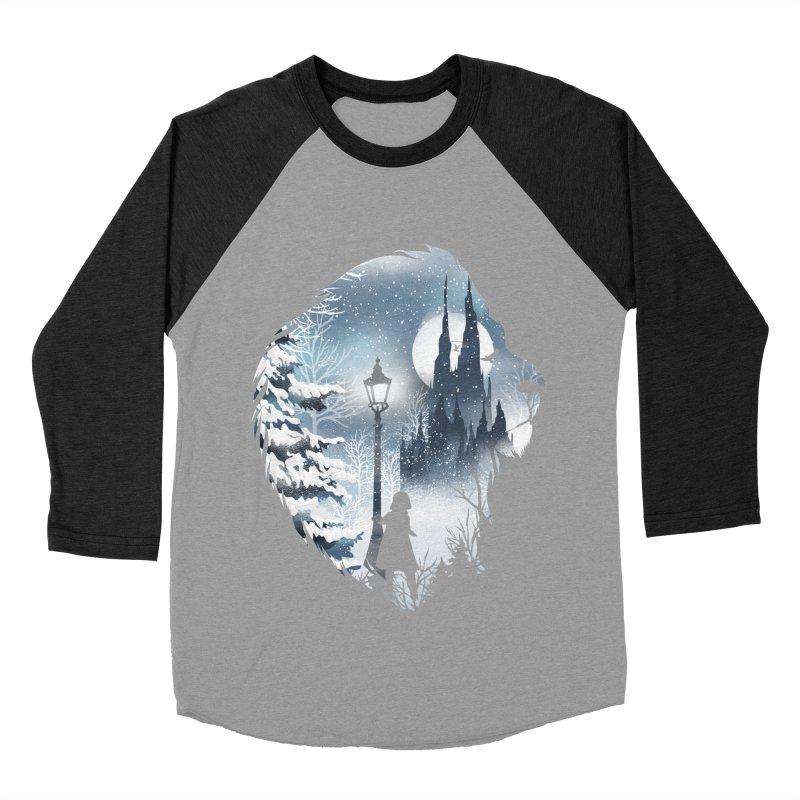 Mystical Winter Men's Baseball Triblend Longsleeve T-Shirt by dandingeroz's Artist Shop