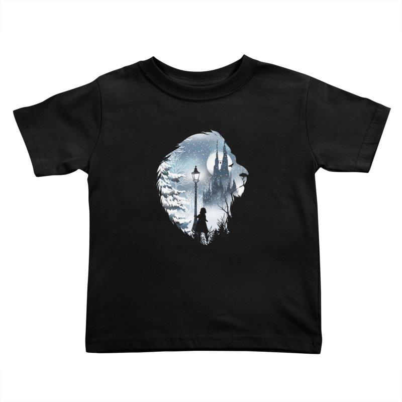Mystical Winter Kids Toddler T-Shirt by dandingeroz's Artist Shop