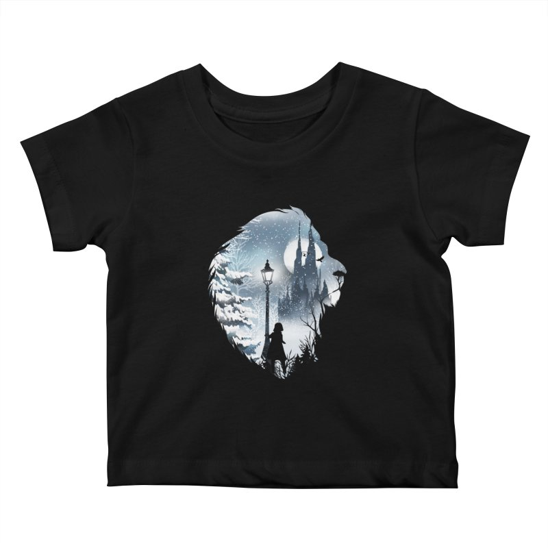 Mystical Winter Kids Baby T-Shirt by dandingeroz's Artist Shop