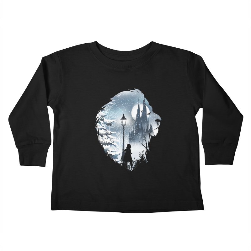 Mystical Winter Kids Toddler Longsleeve T-Shirt by dandingeroz's Artist Shop