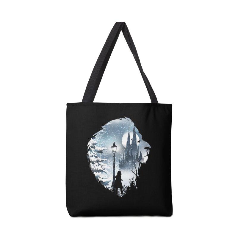 Mystical Winter Accessories Bag by dandingeroz's Artist Shop