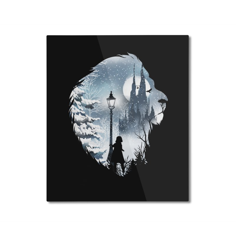 Mystical Winter Home Mounted Aluminum Print by dandingeroz's Artist Shop