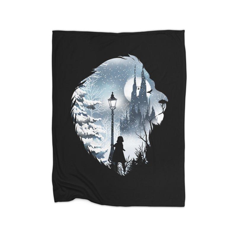 Mystical Winter Home Blanket by dandingeroz's Artist Shop
