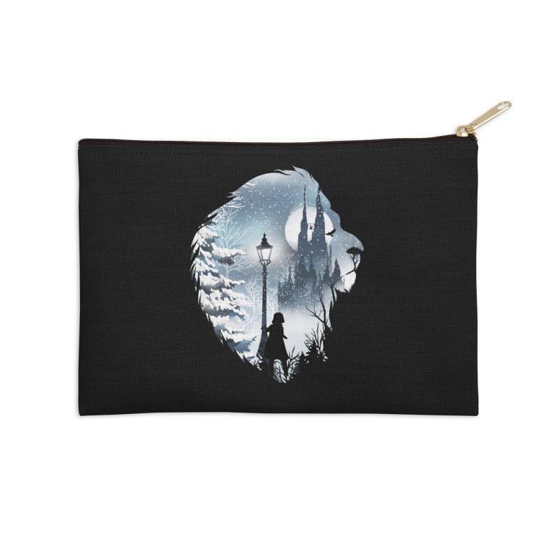 Mystical Winter Accessories Zip Pouch by dandingeroz's Artist Shop