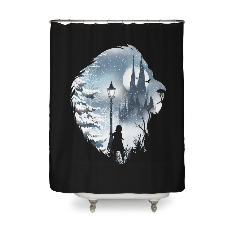 Mystical Winter Home Shower Curtain by dandingeroz's Artist Shop