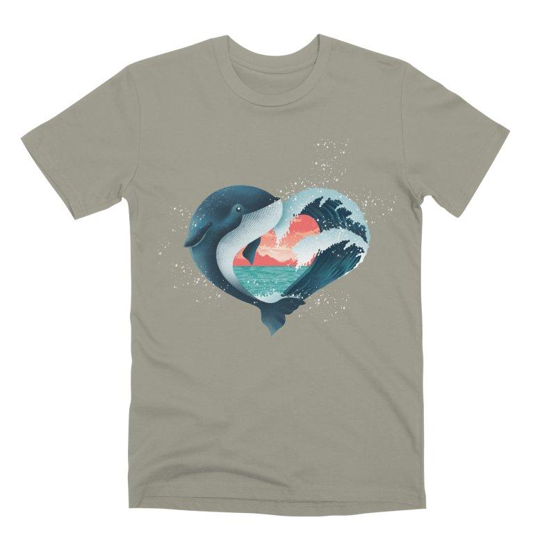 Live, Love & Travel Men's Premium T-Shirt by dandingeroz's Artist Shop