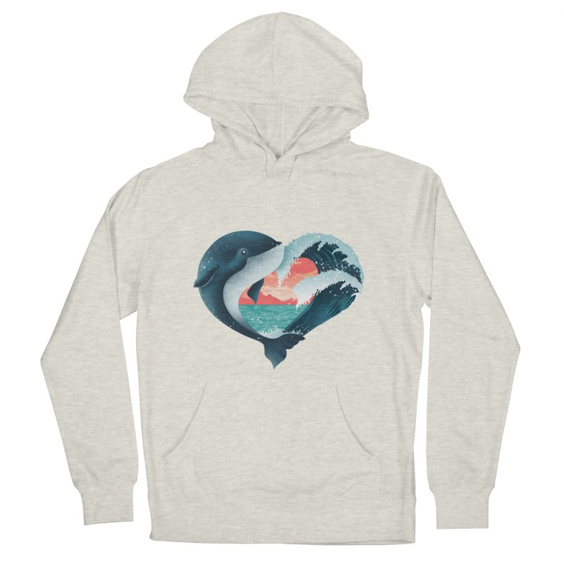 Live, Love & Travel Women's French Terry Pullover Hoody by dandingeroz's Artist Shop