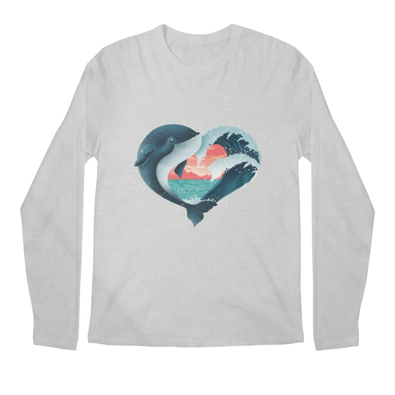 Live, Love & Travel Men's Regular Longsleeve T-Shirt by dandingeroz's Artist Shop