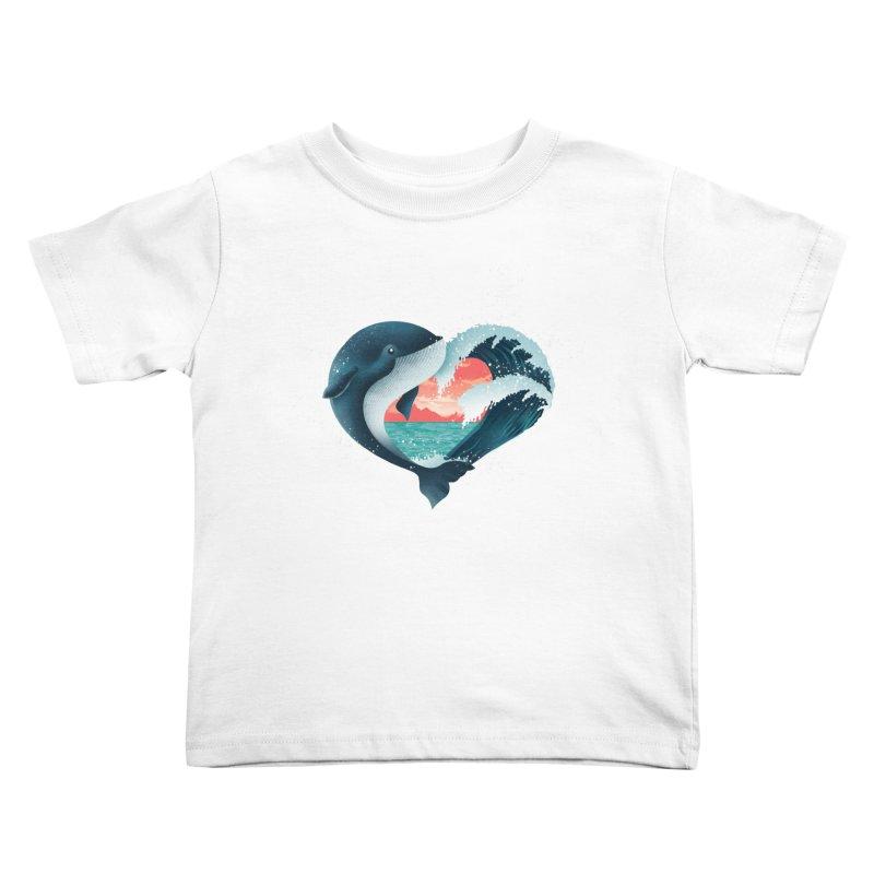 Live, Love & Travel Kids Toddler T-Shirt by dandingeroz's Artist Shop