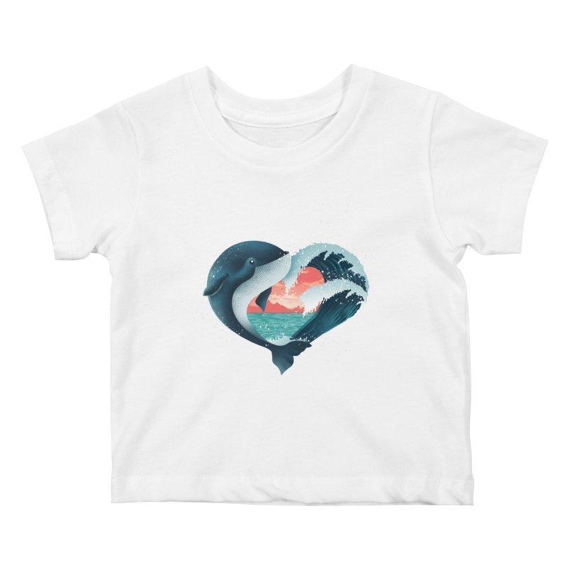Live, Love & Travel Kids Baby T-Shirt by dandingeroz's Artist Shop