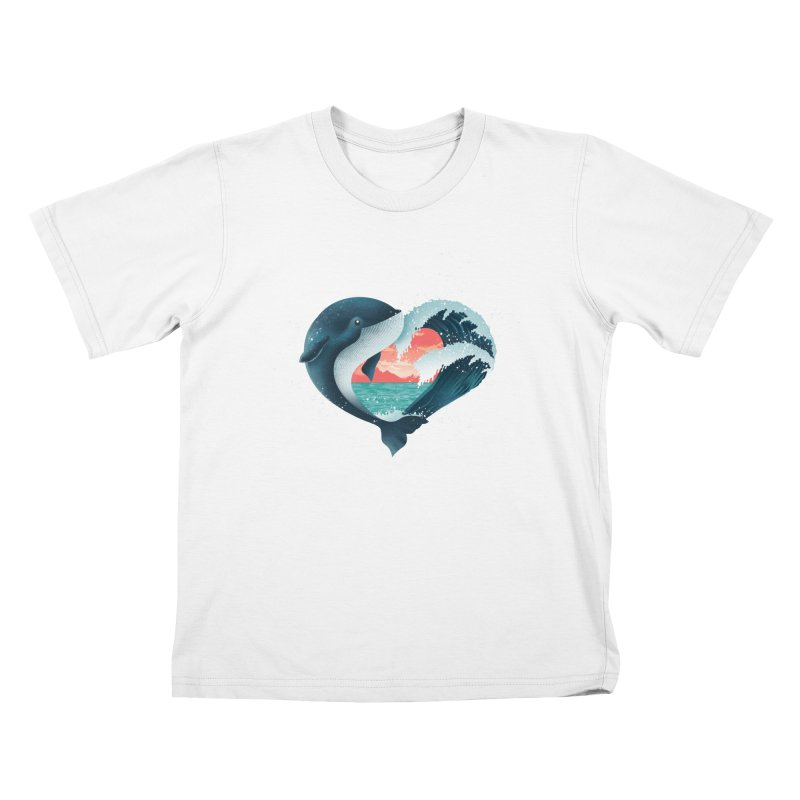Live, Love & Travel Kids T-Shirt by dandingeroz's Artist Shop