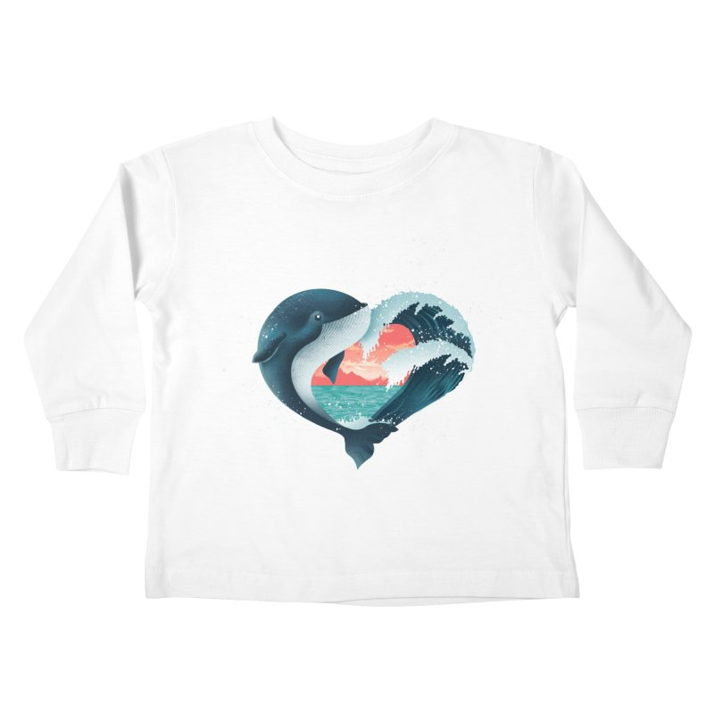 Live, Love & Travel Kids Toddler Longsleeve T-Shirt by dandingeroz's Artist Shop