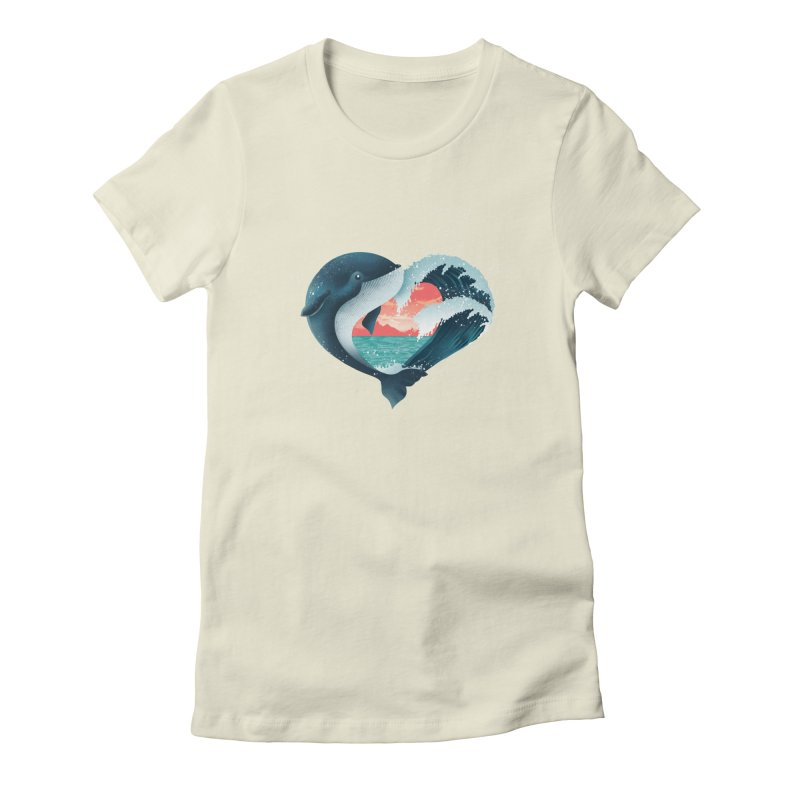 Live, Love & Travel Women's Fitted T-Shirt by dandingeroz's Artist Shop