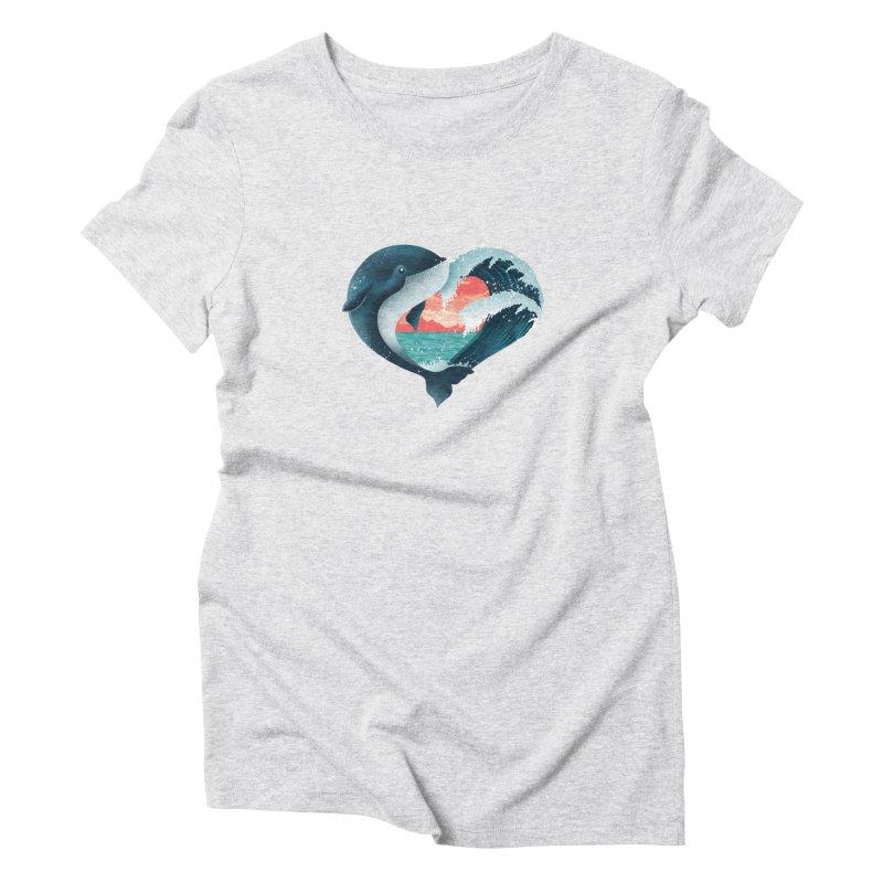 Live, Love & Travel Women's Triblend T-Shirt by dandingeroz's Artist Shop
