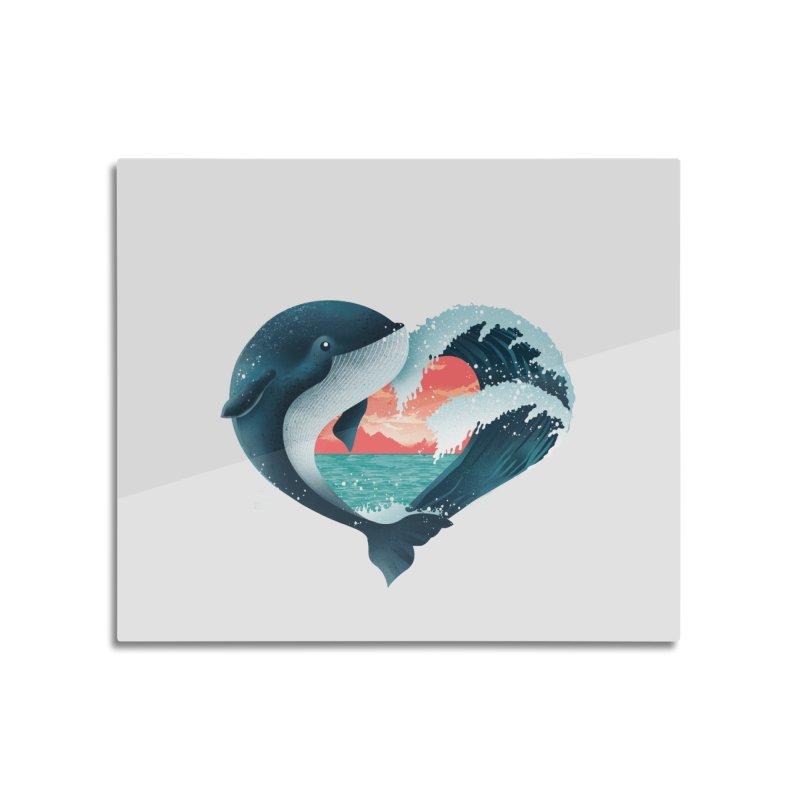 Live, Love & Travel Home Mounted Aluminum Print by dandingeroz's Artist Shop