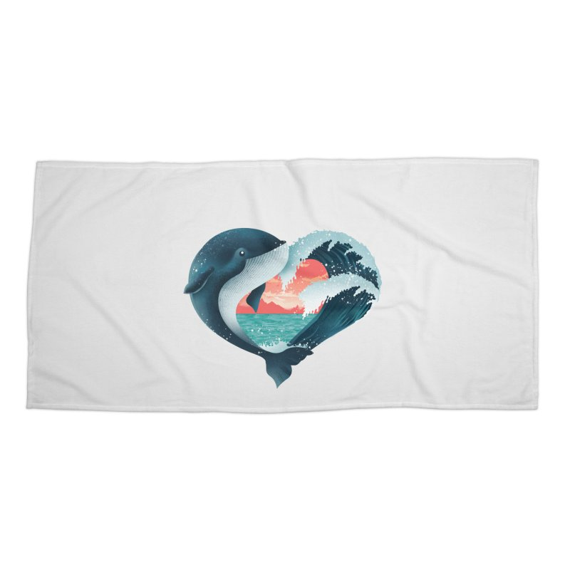 Live, Love & Travel Accessories Beach Towel by dandingeroz's Artist Shop