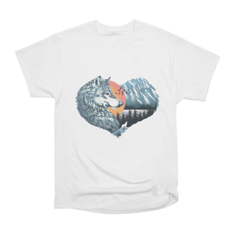 As the wild heart howls Men's T-Shirt by dandingeroz's Artist Shop