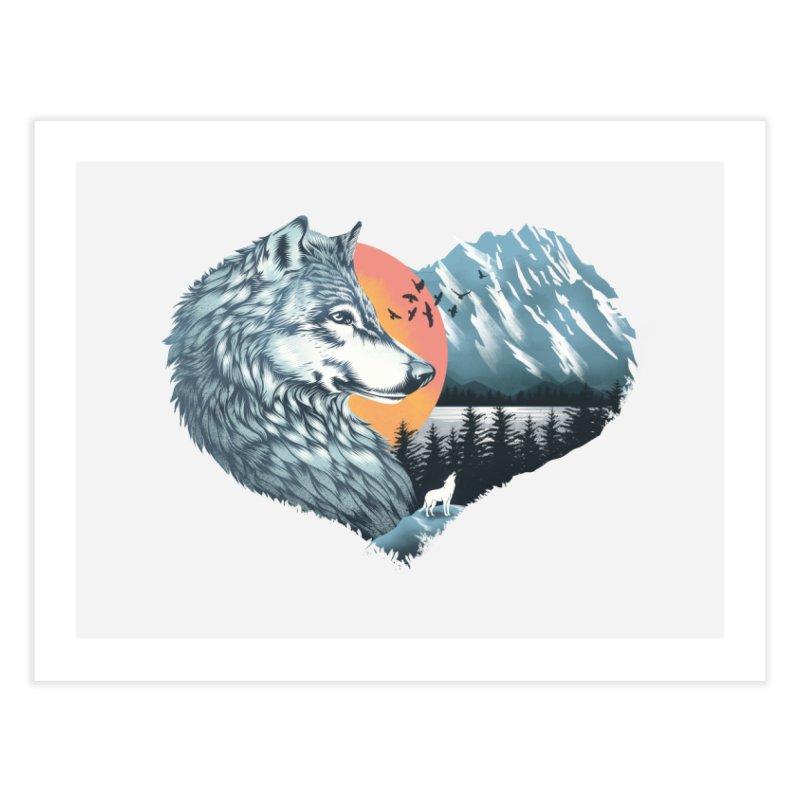 As the wild heart howls Home Fine Art Print by dandingeroz's Artist Shop