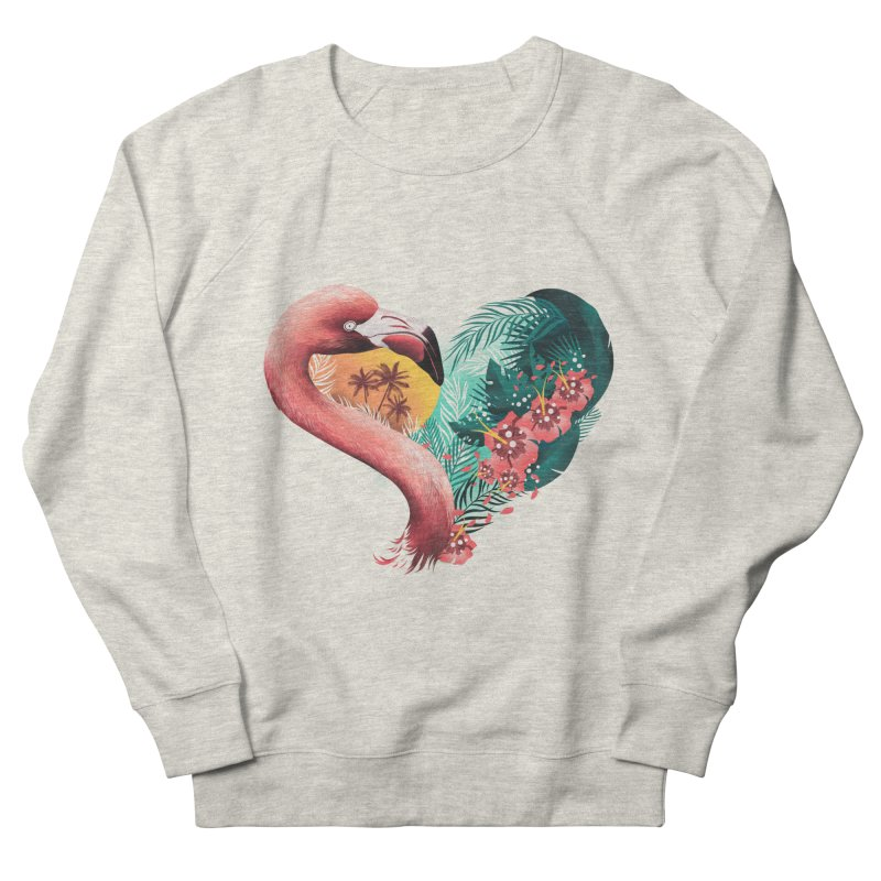 Tropical Love Women's Sweatshirt by dandingeroz's Artist Shop
