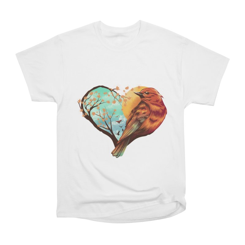 Love Bird Men's T-Shirt by dandingeroz's Artist Shop