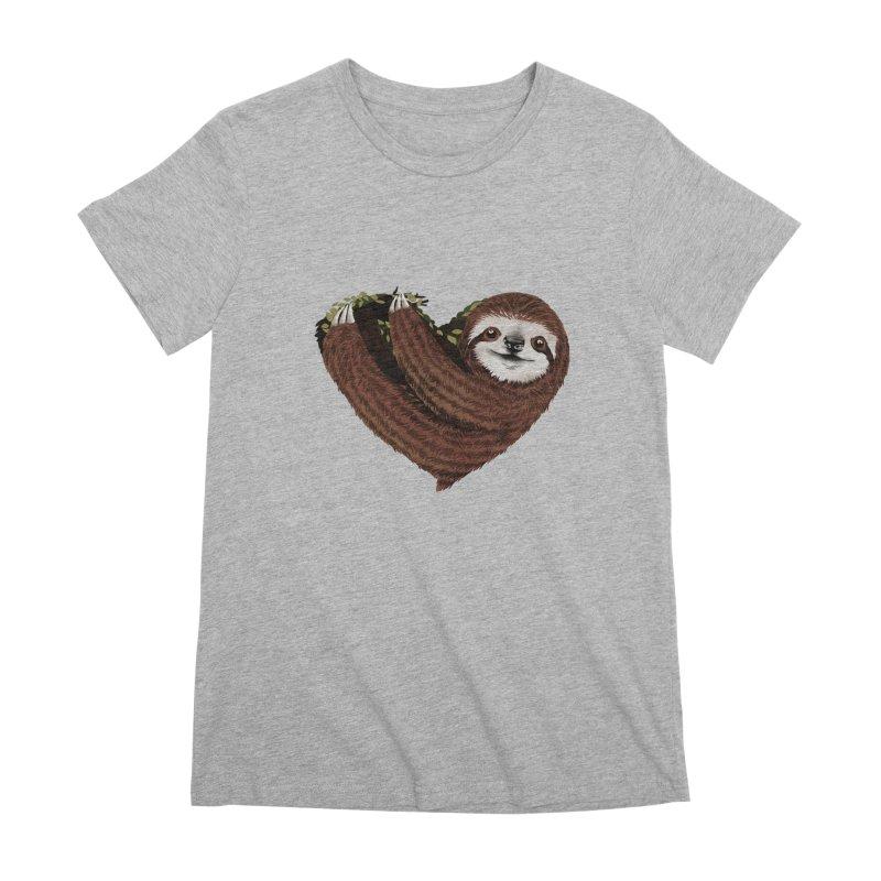 Love Mood Women's Premium T-Shirt by dandingeroz's Artist Shop