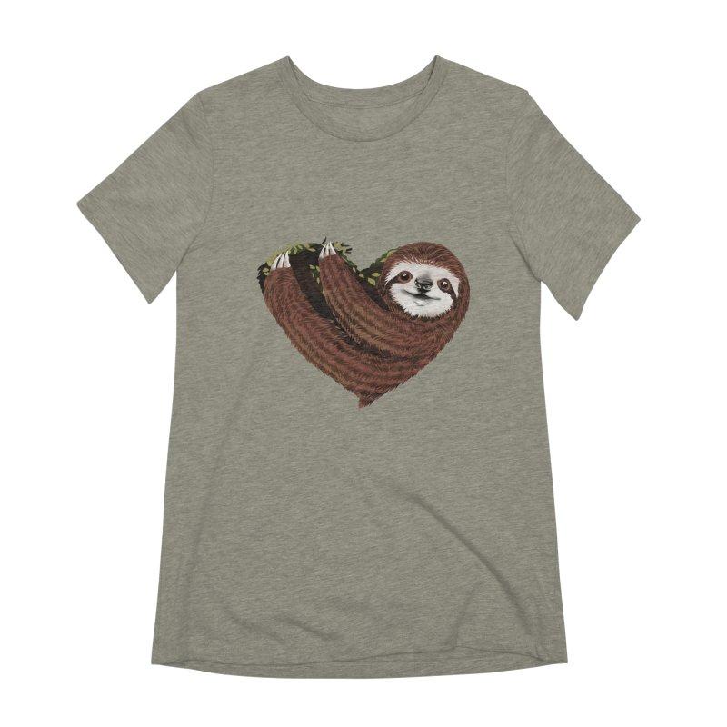 Love Mood Women's Extra Soft T-Shirt by dandingeroz's Artist Shop