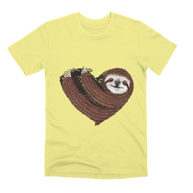 Love Mood Men's Premium T-Shirt by dandingeroz's Artist Shop