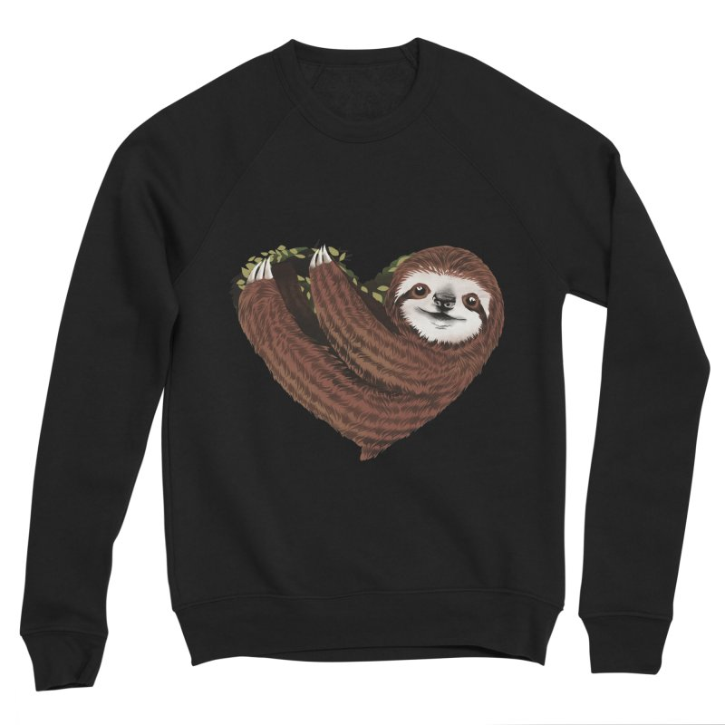 Love Mood Men's Sponge Fleece Sweatshirt by dandingeroz's Artist Shop