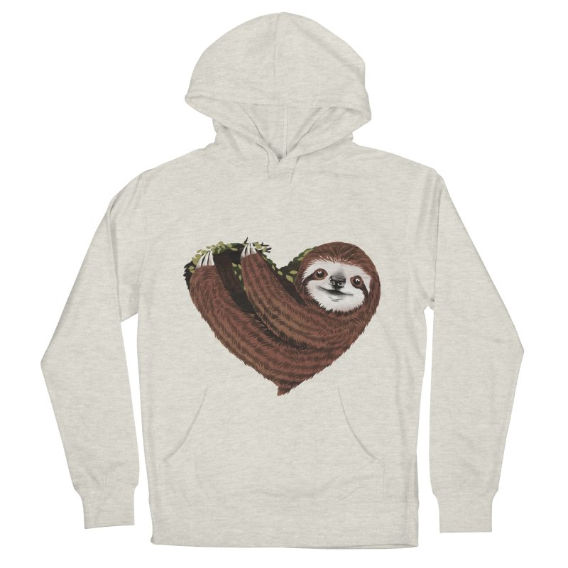 Love Mood Men's French Terry Pullover Hoody by dandingeroz's Artist Shop