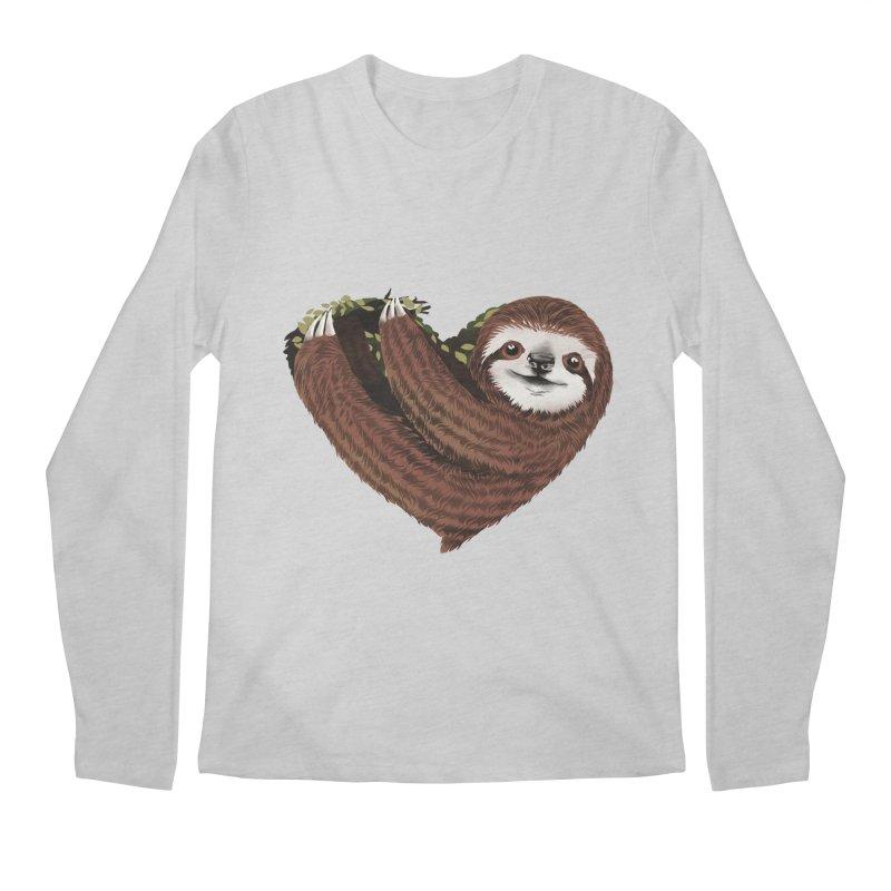 Love Mood Men's Regular Longsleeve T-Shirt by dandingeroz's Artist Shop
