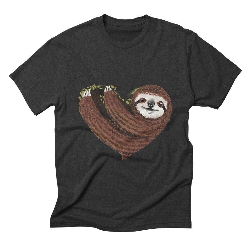 Love Mood Men's Triblend T-Shirt by dandingeroz's Artist Shop